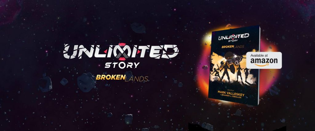 unlimited story broken lands available on amazon